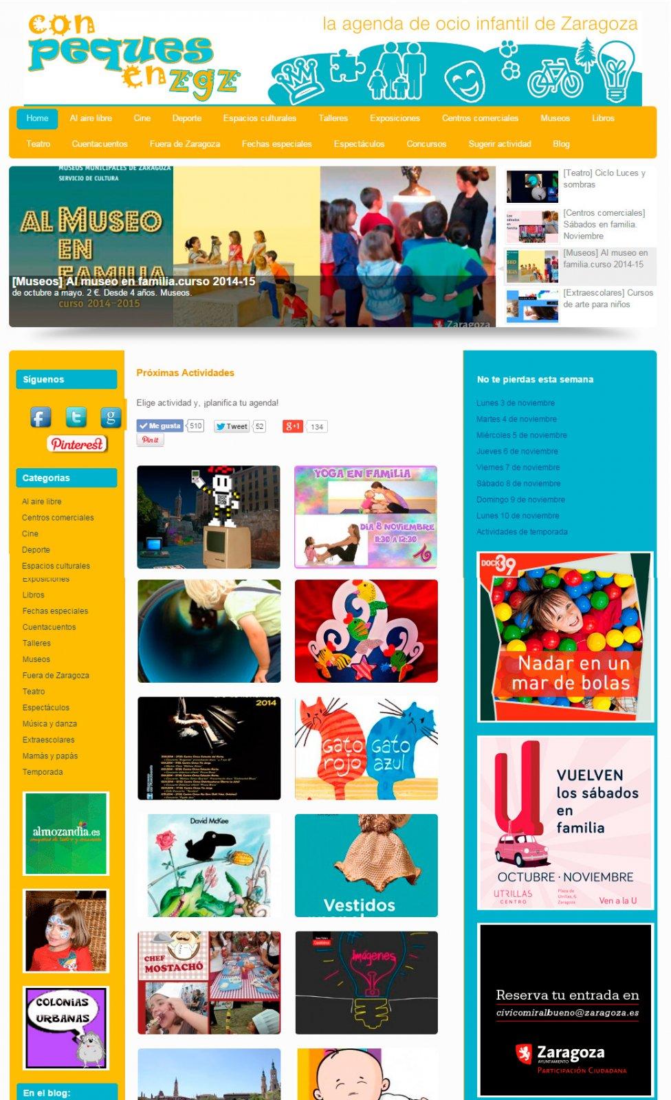 2ª versión de la agenda Conpeques. Año 2012
