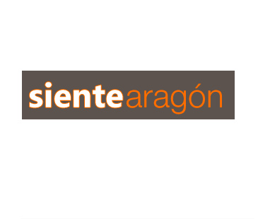 Dsieño de logo web Sientearagon para Brizna Imagen y Comunicación. 2009