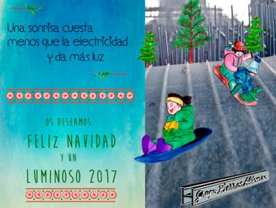 Hierros felicitacion Navideña 2016